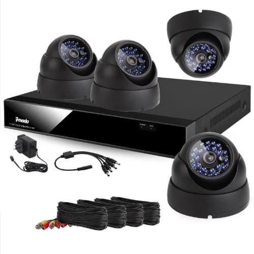 מצלמות אבטחה לחניון