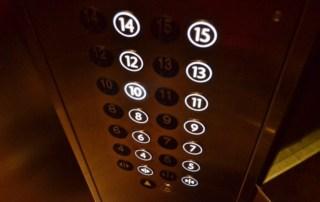 מצלמות אבטחה במעלית