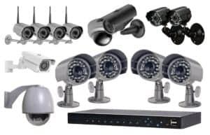 סט מצלמות אבטחה
