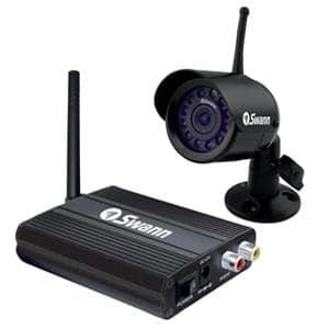 4 מצלמות אבטחה ו DVR
