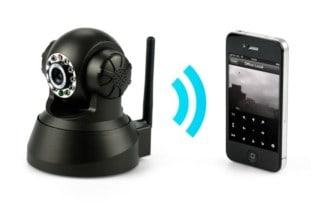 מצלמת אבטחה אלחוטית wifi